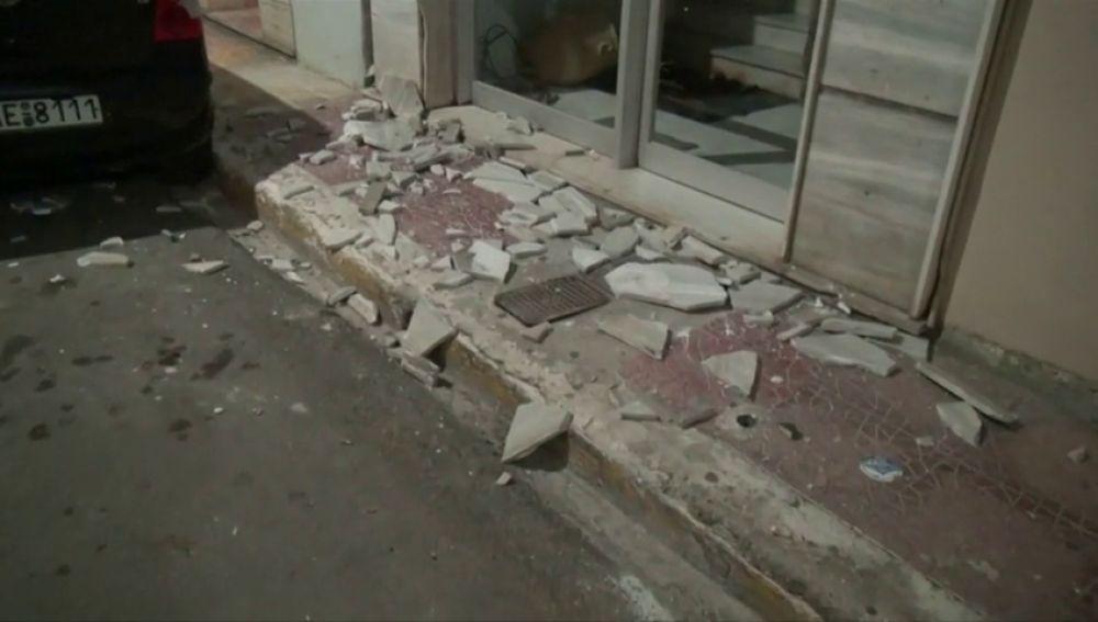 Un terremoto de magnitud 6'8 deja daños materiales en Grecia