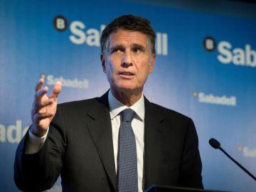 El consejero delegado del Banco Sabadell, Jaume Guardiola