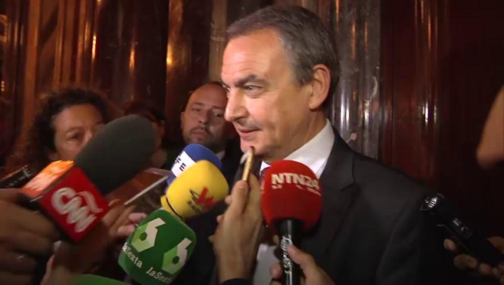 Zapatero defiende que el diálogo con Venezuela debe continuar