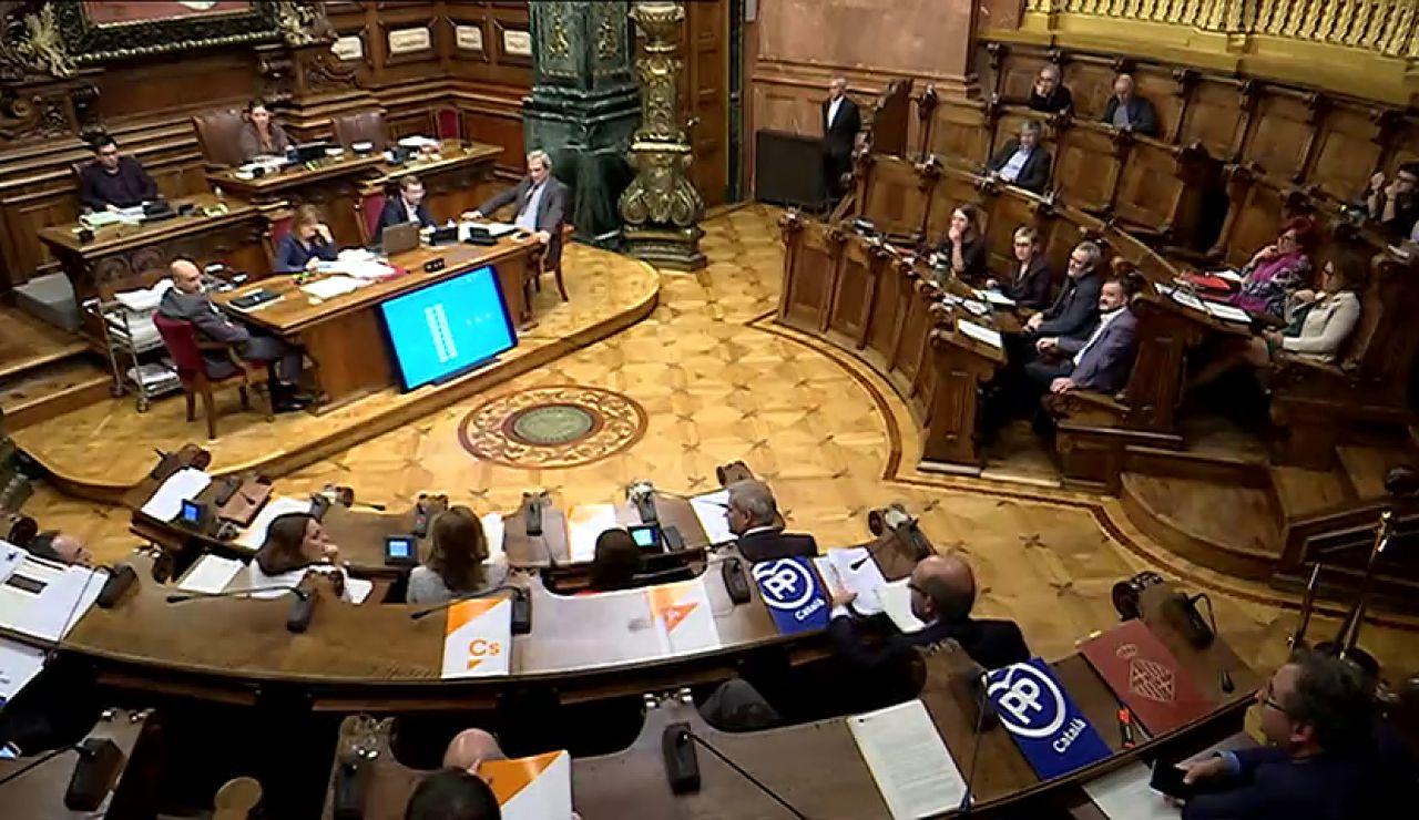 El Ayuntamiento de Barcelona reprueba al Rey Felipe VI
