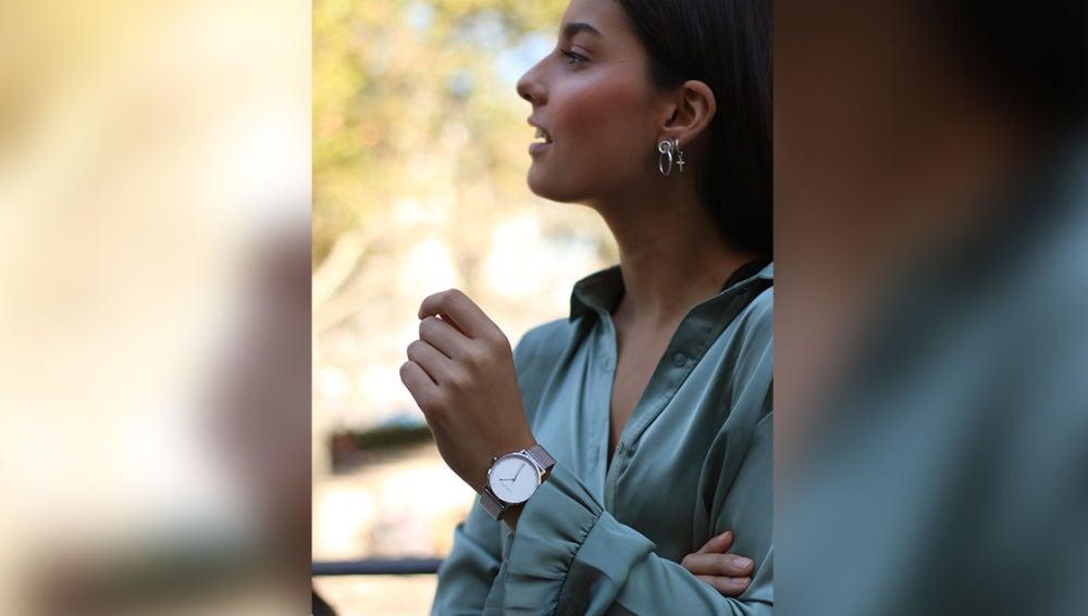 @araceliirosa con reloj de la firma Havet
