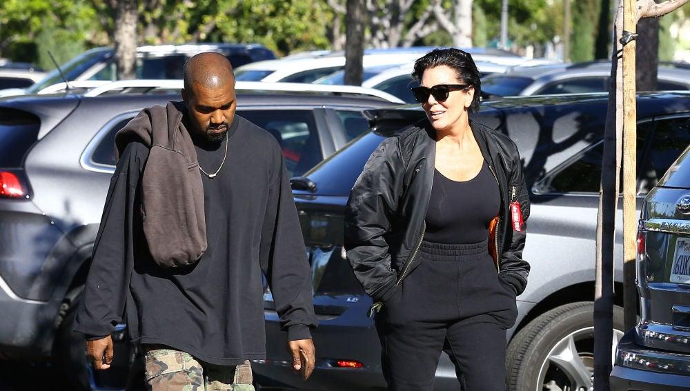 Kanye West y Kris Jenner