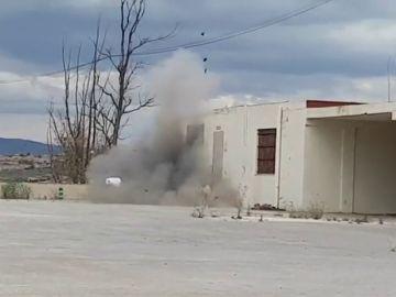 Detenidos seis jóvenes por colocar explosivos en edificios de Murcia