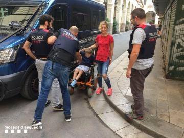 Recuperan la silla de rueda robada a un menor