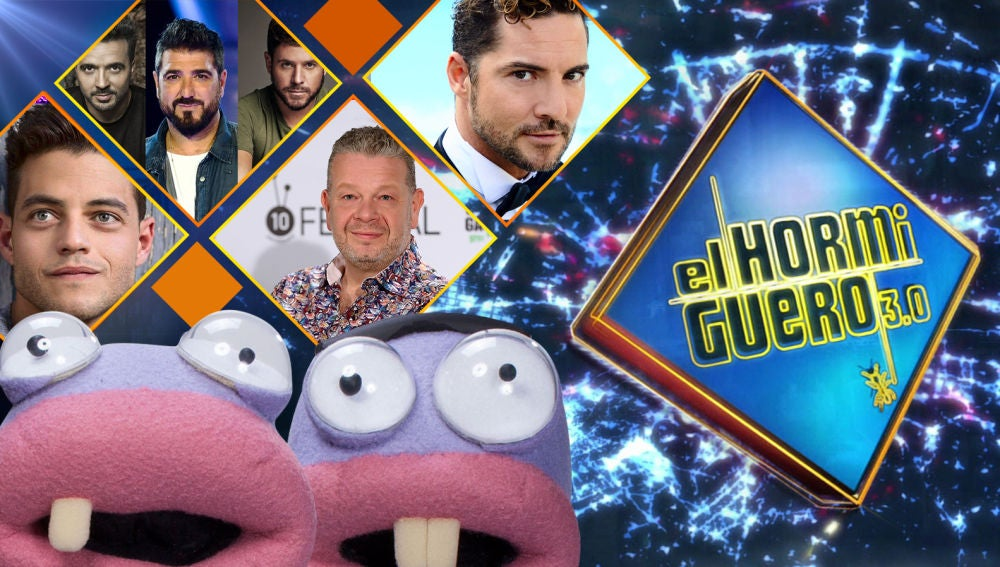 Luis Fonsi, Pablo López, Antonio Orozco, Rami Malek, Alberto Chicote y David Bisbal se divertirán en 'El Hormiguero 3.0' la próxima semana