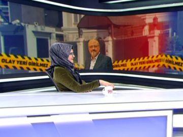 La novia de Jamal Khashoggi