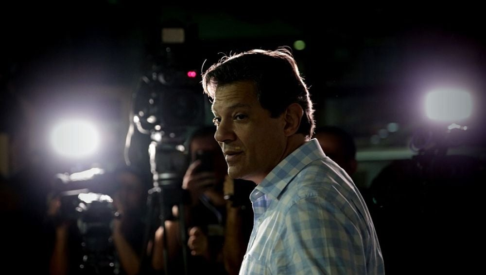 El candidato progresista Fernando Haddad