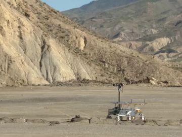 Así son las pruebas que está realizando el 'Rover'