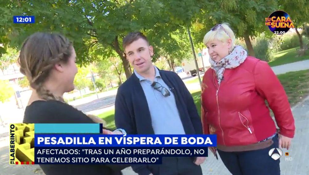 Parejas de novios sin boda en Madrid.