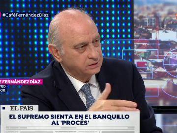 """Jorge Fernández Díaz, exministro del Interior: """"""""Me parece lamentable que el Gobierno esté haciendo de abogado defensor de Torra y Puigdemont"""""""