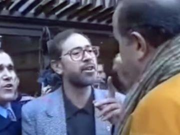 González Fidalgo se pelea con Jesús Gil en 1996
