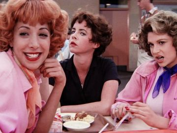 Las pink ladies en 'Grease'
