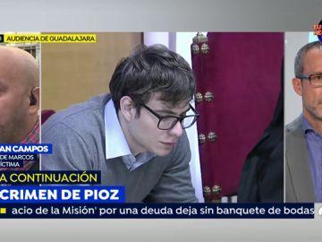 Walfran Campos, tío del asesino confeso de Pioz.