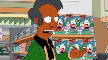 El personaje Apu en 'Los Simpson'
