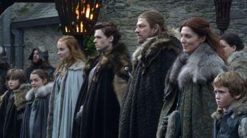 La familia Stark de 'Juego de Tronos'