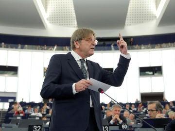 El líder de los liberales europeos, Guy Verhofstadt