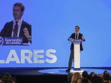 Pablo Casado en la Interparlamentaria del Partido Popular