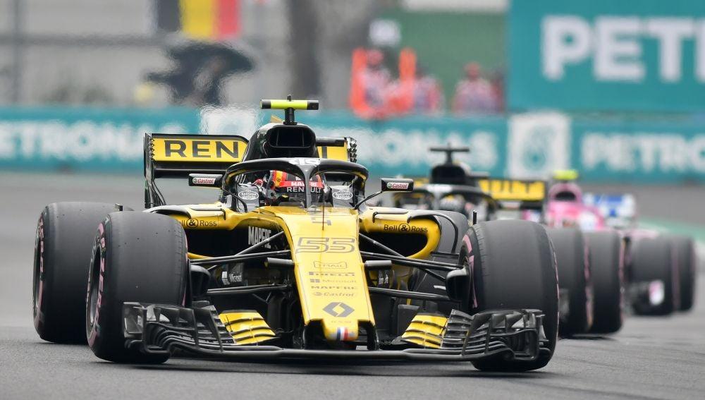 Carlos Sainz, en el GP de México