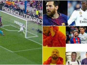 Memes del Barcelona - Real Madrid