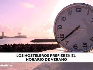 El sector turístico canario lo tiene claro: prefieren el horario de verano