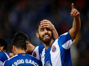 El delantero del Espanyol, Borja Iglesias.