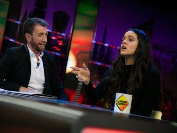 Rosalía interpreta su nueva canción 'Bagdad' en acústico en 'El Hormiguero 3.0'