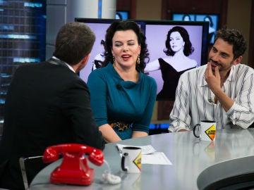 VÍDEO: El parecido razonable de Debi Mazar con Ava Gardner que reconoce hasta Frank Sinatra