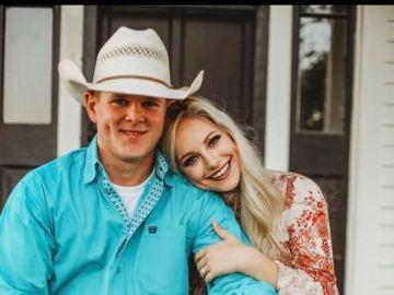 La pareja fallecida en el accidente de helicóptero