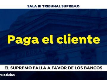 REEMPLAZO | El Tribunal Supremo decide que el impuesto de las hipotecas debe pagarlo el cliente