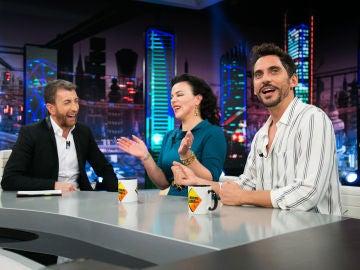 VÍDEO: Debi Mazar y Paco León demuestran en 'El Hormiguero 3.0' su destreza del 'Spanglish'