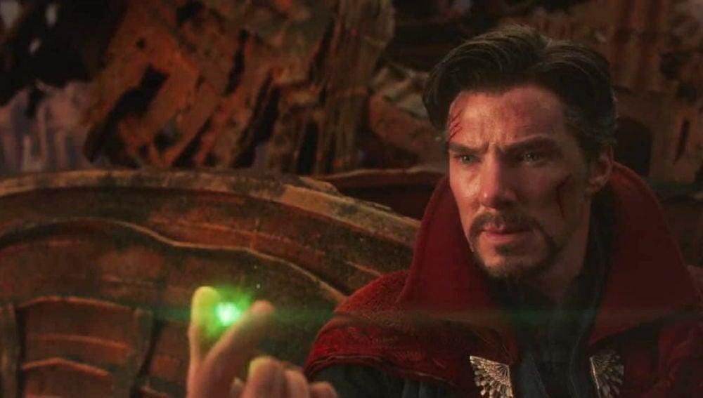 Benedict Cumberbatch en 'Vengadores: Infinity War'