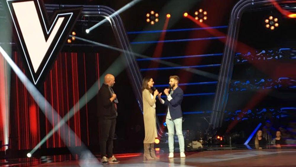 """Eva González, se sincera ante un entregado público: """"Estoy disfrutando en 'La Voz' como si fuese la primera vez que me pongo delante de una cámara"""""""