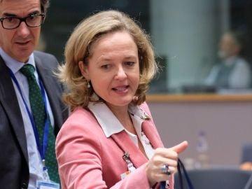 La ministra de Economía del Gobierno español, Nadia Calviño