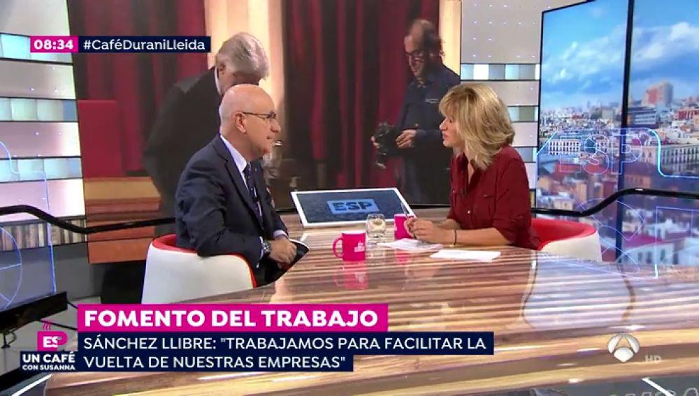 """Duran i Lleida: """"Yo no veo delito de rebelión pero tiene que haber un juicio y se estudiarán las pruebas"""""""