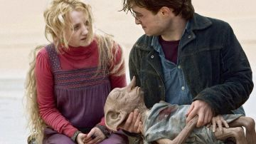 Harry y Luna se despiden de Dobby