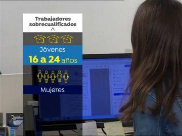 Más de la mitad de los trabajadores están sobrecualificados para su puesto de trabajo según Asempleo