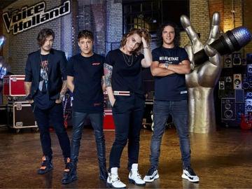 Los coaches de 'The Voice of Holland'