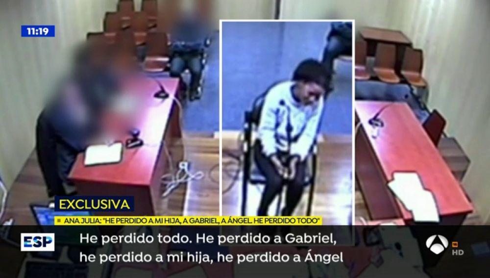 Declaración de Ana Julia Quezada, asesina confesa de Gabriel.