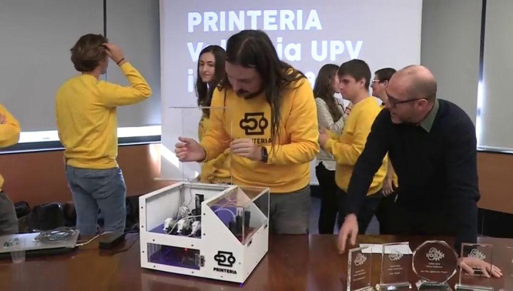 Printeria, la 'impresora' de ADN desarrollada por estudiantes de la Universitat Politècnica de València