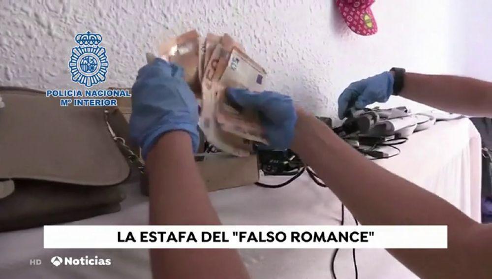 La Policía Nacional desarticula a una organización especializada en el fraude del 'falso romance' que estafó 2.100.000 euros