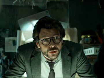 Álvaro Morte, El Profesor en 'La Casa de Papel'