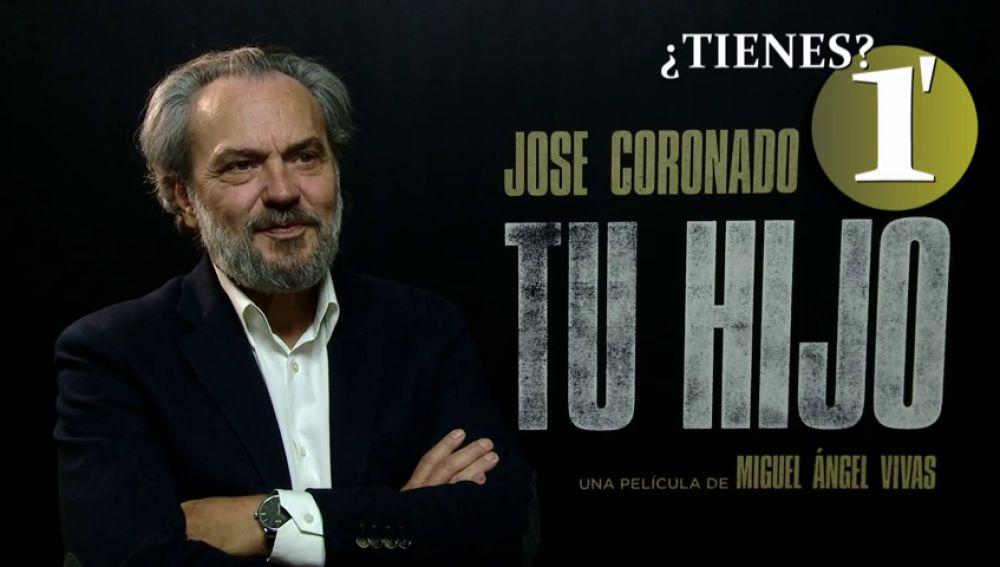 José Coronado confiesa que el mejor regalo de un hijo son los besos
