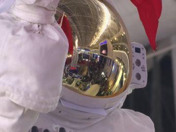 China muestra una réplica de lo que podría ser la primera estación espacial con personas permanentemente dentro