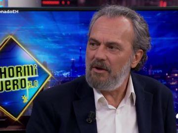 """José Coronado, en 'El Hormiguero 3.0': """"El infarto lo veo como la mayor bendición"""""""