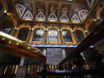 Imagen de una jornada de la Bolsa de Madrid