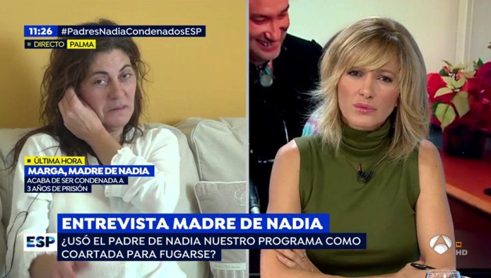 """La madre de Nadia habla por primera vez tras conocerse la condena: """"Estoy muerta porque no tengo a mi hija"""""""