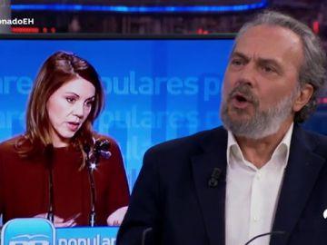 José Coronado y Cristina Pardo debaten sobre la renuncia de Cospedal a su escaño y el impuesto de hipotecas en España