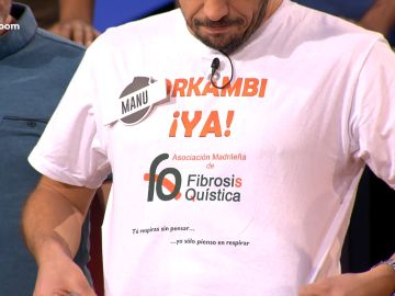 Camiseta fibrosis quística