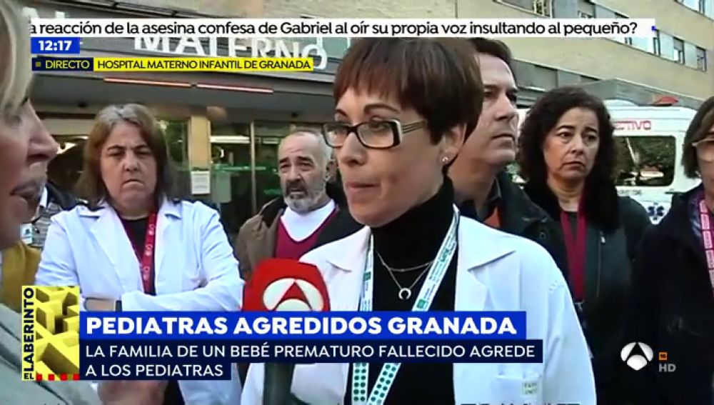 Agresión a personal sanitario en Granada.