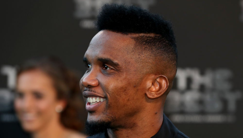 Eto'o, en la gala de los premios 'The Best'